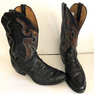 🆕🆕 TONY LAMA Lizard Exotic Western Boots